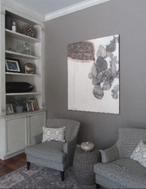 Paintings by Melanie Grein seen at Private Residence, Cherry Hills Village - Denver Art Company, Abstract Painting