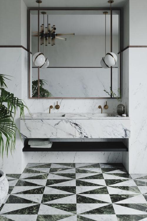 Tiles by Joanna Lavén Design seen at Stockholm, Stockholm - Vanitas