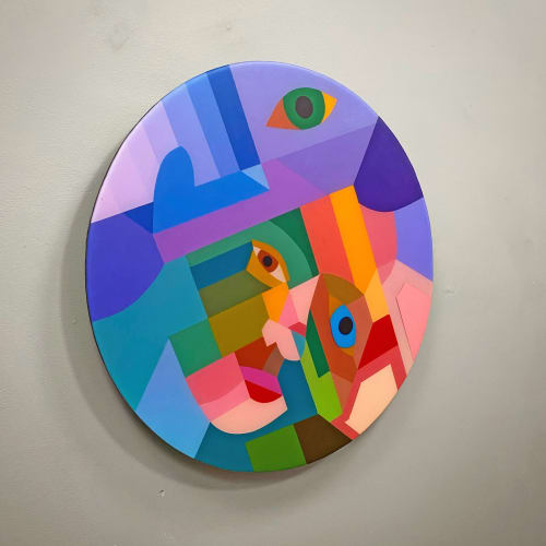 Murals by Moleiro Artwork at Keystone Art Space, Los Angeles - Look At Me