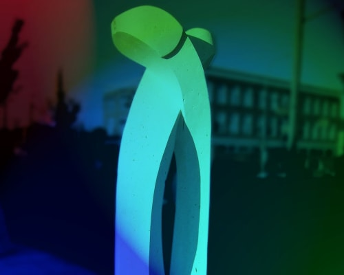 Public Sculptures by Eldon Guay seen at Calgary, Calgary - Union