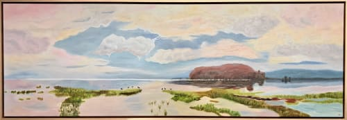 Paintings by Iryna White seen at Creator's Studio, Shell Cove - Peaceful