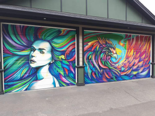 Kelly Wright Art - Murals and Street Murals