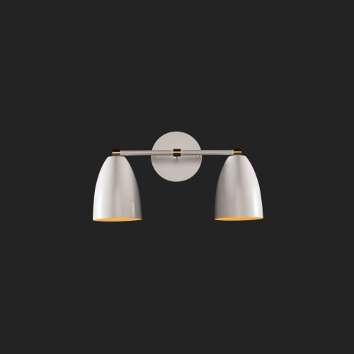 Sconces by Southern Lights Electric seen at Folk, Nashville - Betty Vanity wall sconce