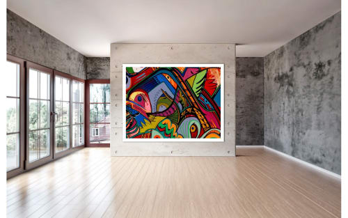 Jimmy Chiale - Paintings and Murals