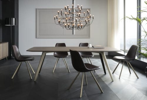 Tables by ETAMORPH seen at Private Residence, New York - Papilio Dining Table