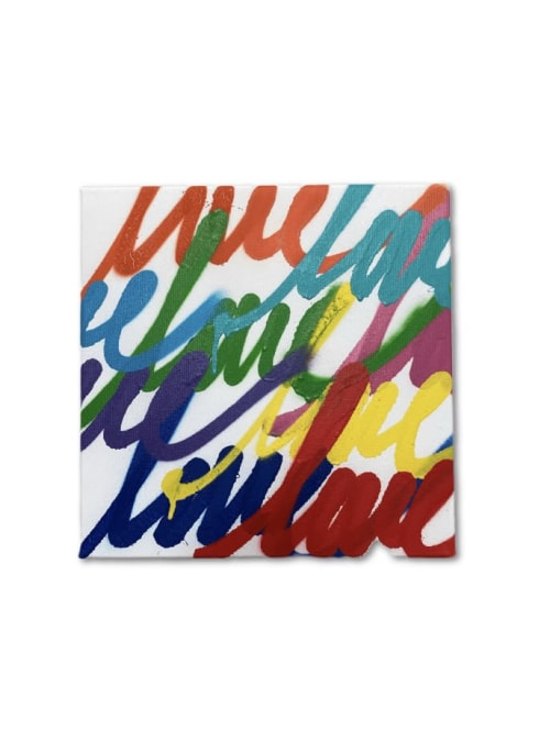 Paintings by Ruben Rojas seen at Creator's Studio, Santa Monica - Untitled