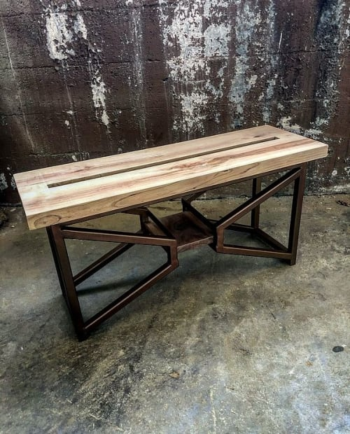 Benches & Ottomans by Breclaimed seen at Chicago, Chicago - Shoe Bench