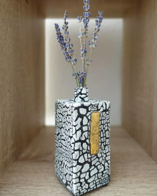 Vases & Vessels by Pierre Bounaud Ceramics seen at Private Residence, San Francisco - Bud Vase