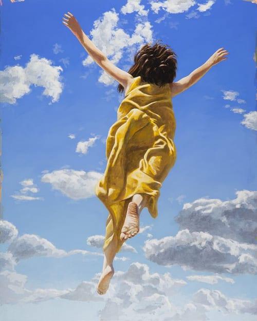 Paintings by David Palmer Studio seen at Pasadena, Pasadena - Flying Dream #2