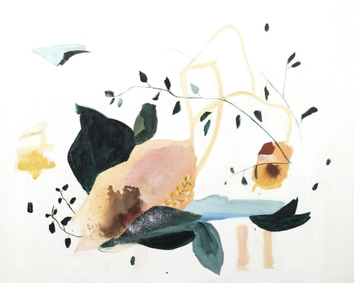 Paintings by Sarah McInroe seen at Private Residence, Portland - Lyrical