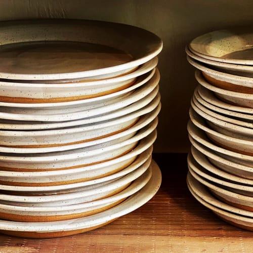 Ceramic Plates by Benjamin Wood, Studio B LLC seen at Private Residence - Plates By Benjamin, Studio B LLC