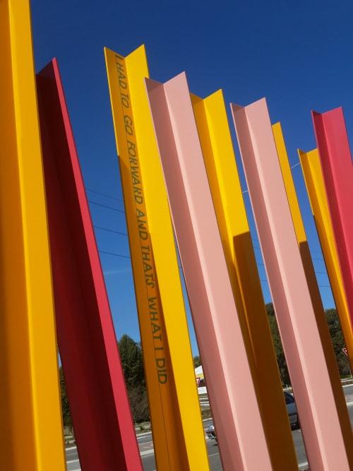 Public Sculptures by Forlano Design seen at Shenton Park, Shenton Park - Mutualities (artwork)