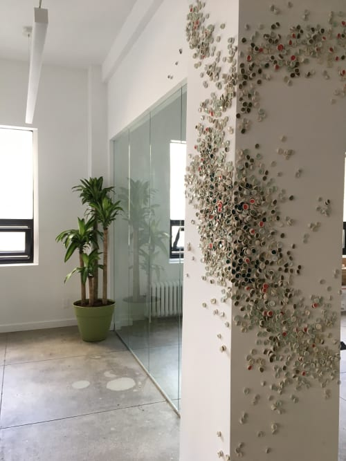 Sculptures by Christina Watka seen at Indiewalls Inc., New York - Murmuration XXX: The Build-Up