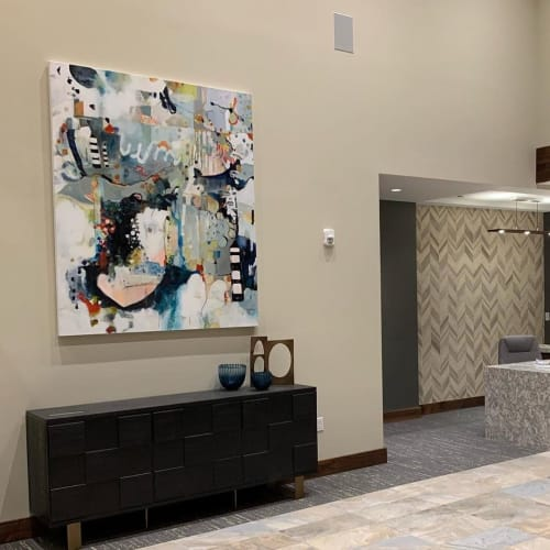Paintings by Consu Tolosa seen at The Springs Living, McMinnville - Commissioned Painting