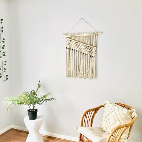 Macrame Wall Hanging by YASHI DESIGNS - Macrame Rainbow Wall Hanging