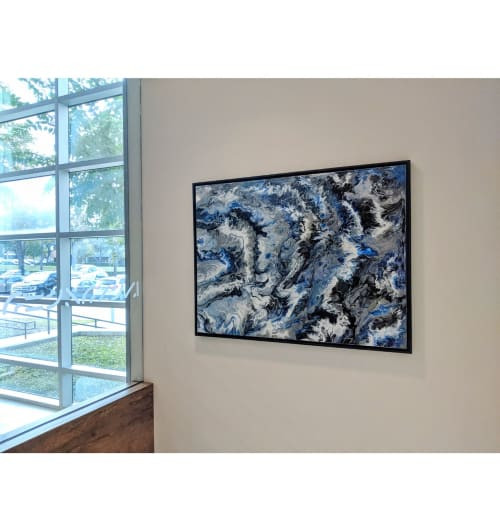 Paintings by Soulscape Art seen at Qorvo, Richardson - Marble Collection