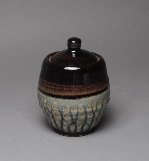 Tableware by John McCoy Pottery seen at Private Residence, Santee - Sugar bowl with lid