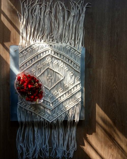 "Beauty Products by Sasha Sukiennik seen at Creator's Studio, Warsaw - Table runner ""Soledat"""