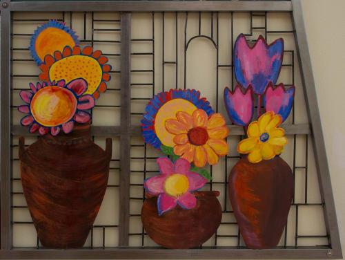 Art & Wall Decor by Joyce Dallal seen at Estelle Van Meter Multipurpose Center, Los Angeles - Tribute to Estelle Van Meter