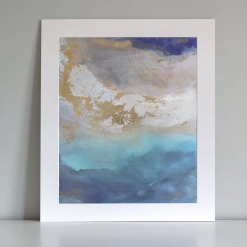 Saint Helena - Embellished Print   Paintings by Julia Contacessi Fine Art