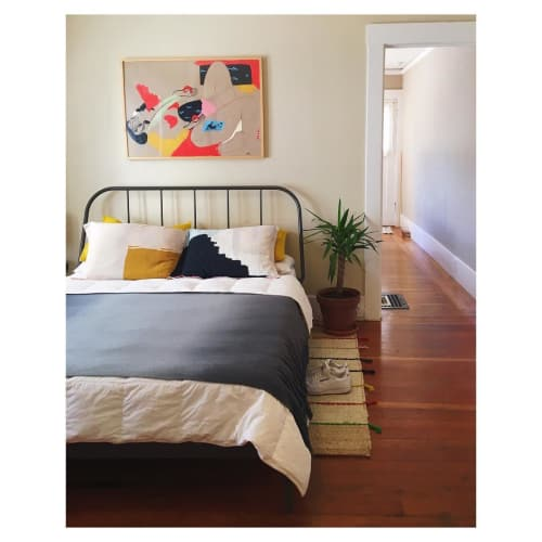 Paintings by Lena Gustafson seen at Private Residence, Oakland - Abstract Painting