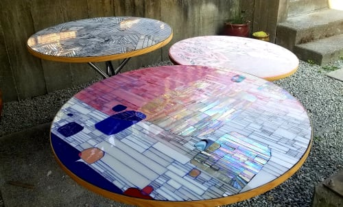 Art & Wall Decor by Kate Jessup seen at MBar, Seattle - Mbar Patio Tables