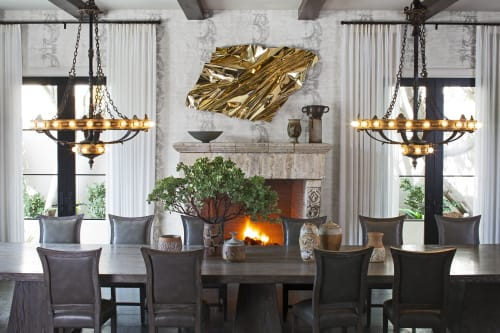 Interior Design by Jeff Andrews Design seen at Private Residence, Beverly Hills - Top of Beverly Hills