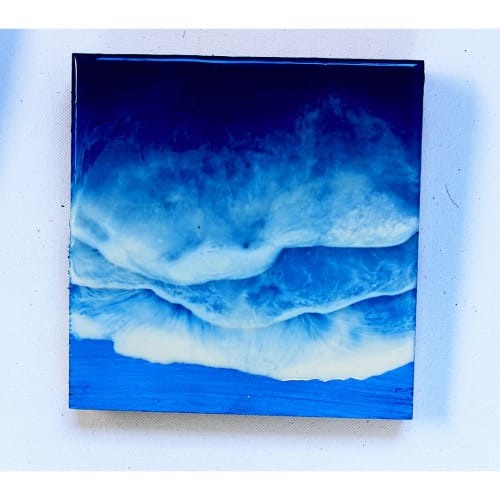 Paintings by Fenkraft Resin seen at Private Residence, Mumbai - Beach Resin Art