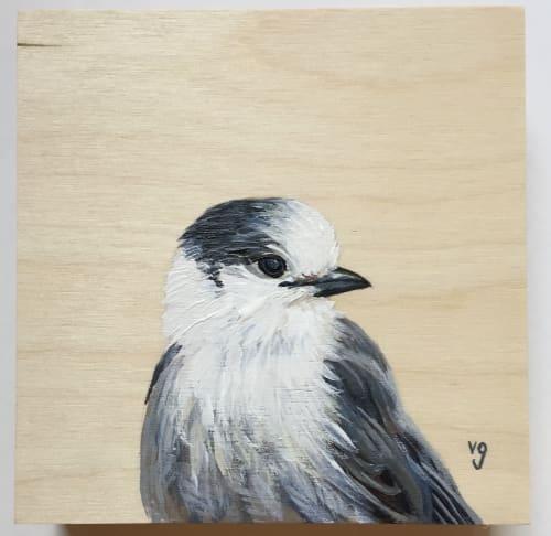Paintings by Alli van Gruen Art seen at Vancouver, Vancouver - Whiskey Jack