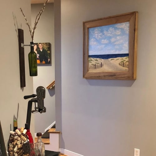 """Paintings by Kristin Pierre Art seen at Private Residence, Cleveland - """"A Path Well-Taken"""""""