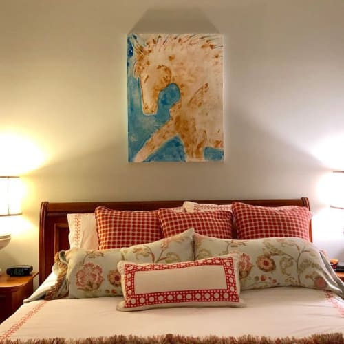 Paintings by Donna B Fine Art seen at Private Residence, Scottsdale - DayDreaming