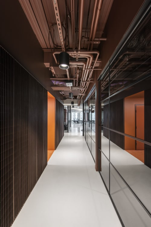 Interior Design by Studio Nine Architects seen at Mill Film, Adelaide - Mill Film Adelaide