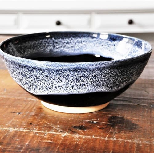 Tableware by Robin Badger & Robert Chartier seen at Private Residence, West Bolton, West Bolton, Quebec - Winter Nights Bowl