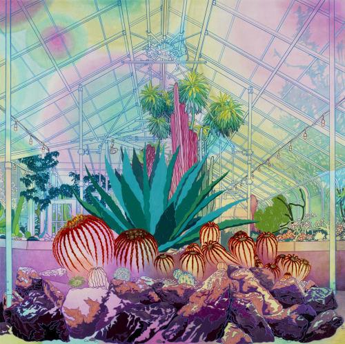 Paintings by Elizabeth Gahan seen at Linda Hodges Gallery, Seattle - Tranquil Vibrancy