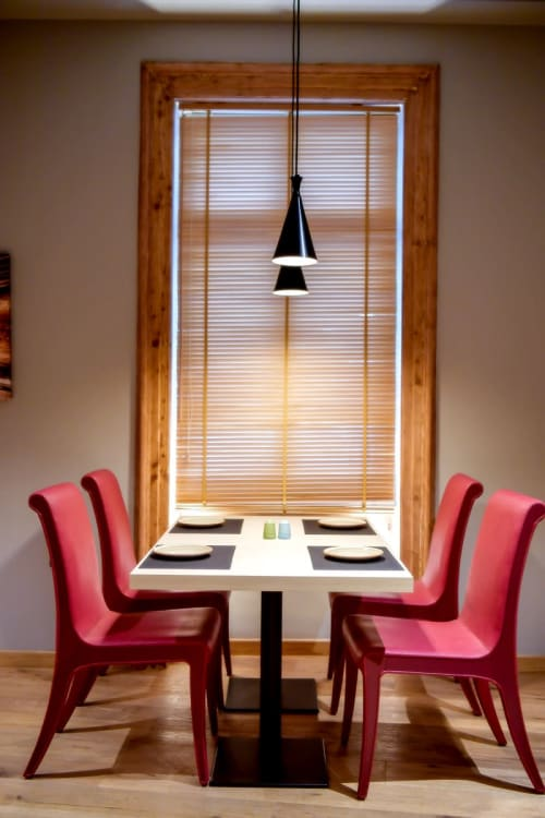 Chairs by Anesis seen at Hydrama Grand Hotel, Drama - Custom Dining Chairs