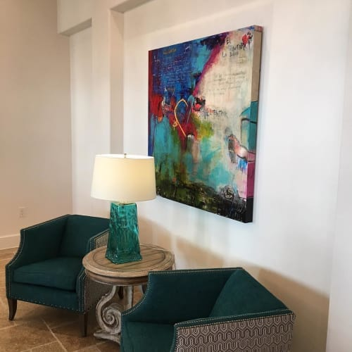 Paintings by Jan Lord Artist seen at Ambrosio Apartments, Pflugerville - Touch Will Tell