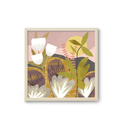 Paintings by Birdsong Prints seen at Creator's Studio, Denver - Tropical Botanical Art Print