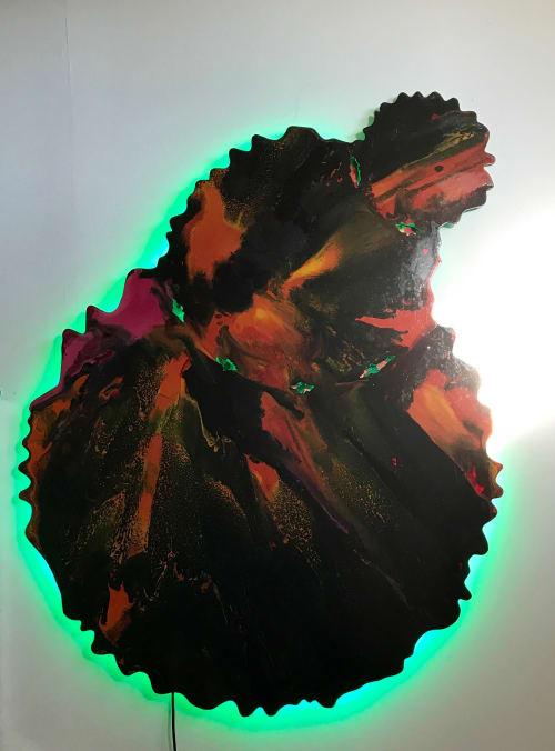 Paintings by Doug Heine's Art Studio seen at Private Residence - Berkeley, CA, Berkeley - Big O
