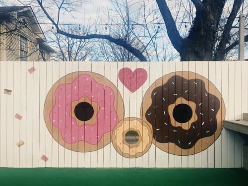 Murals by I Saw The Sign seen at Five Daughters Bakery 12th South, Nashville - Five Daughters Donuts