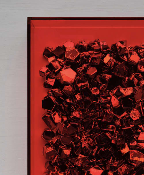 Paintings by John Breed seen at Private Residence, Bergen - RubyRed Dendriet