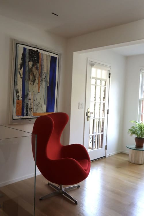 Paintings by Anelisa Calmet Studio seen at Private Residence, Greenwich - Color Deconstructed