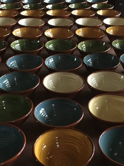 Tableware by Barrington Pottery seen at The Bull Inn, Hardway - Bowls & sauce pots