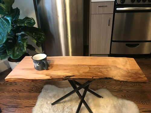 Tables by Jacob Lichtenwalner seen at Private Residence, San Francisco - Custom Table