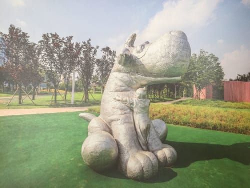 Public Sculptures by Cicero D'Ávila seen at Changsha, Changsha - I can feel your heart beating