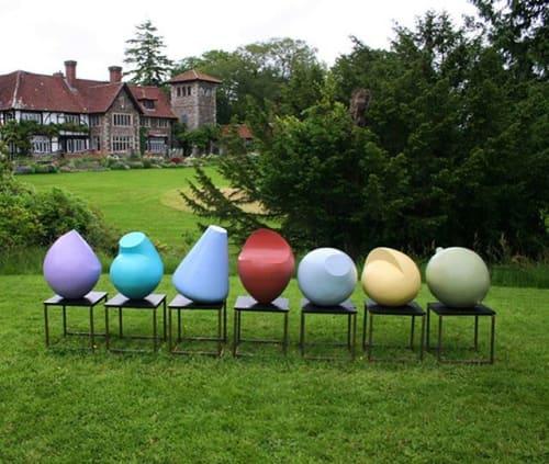 Sculptures by Patricia Volk RWA FRSS seen at Surrey - Individuals