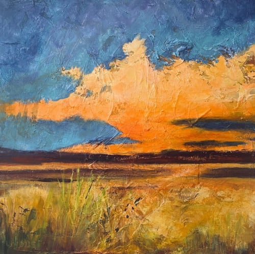 Paintings by Linda Lindus seen at Private Residence, Phoenix, Phoenix - Sunset Squall
