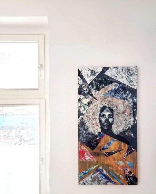 Paintings by Ciele Rose seen at Private Residence, Berlin - Acceptance