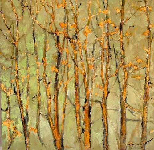 Paintings by Joan Fullerton seen at Private Residence, Denver - Elegant Whispers