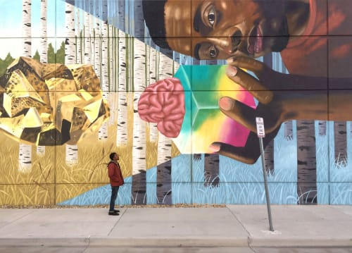 Aaron Glasson - Murals and Street Murals