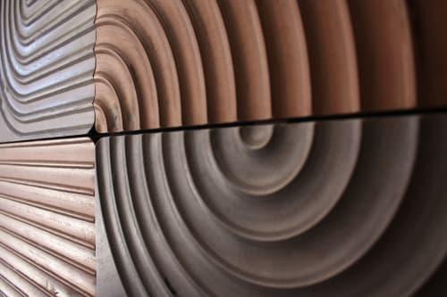Art & Wall Decor by House Van Holland seen at Private Residence, Pasadena - KARVD wall panels (set of six)